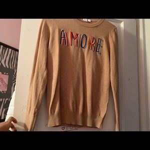 "GAP Factory ""Amore"" sweater"